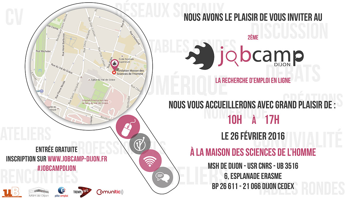 INVITATION JobCamp2016