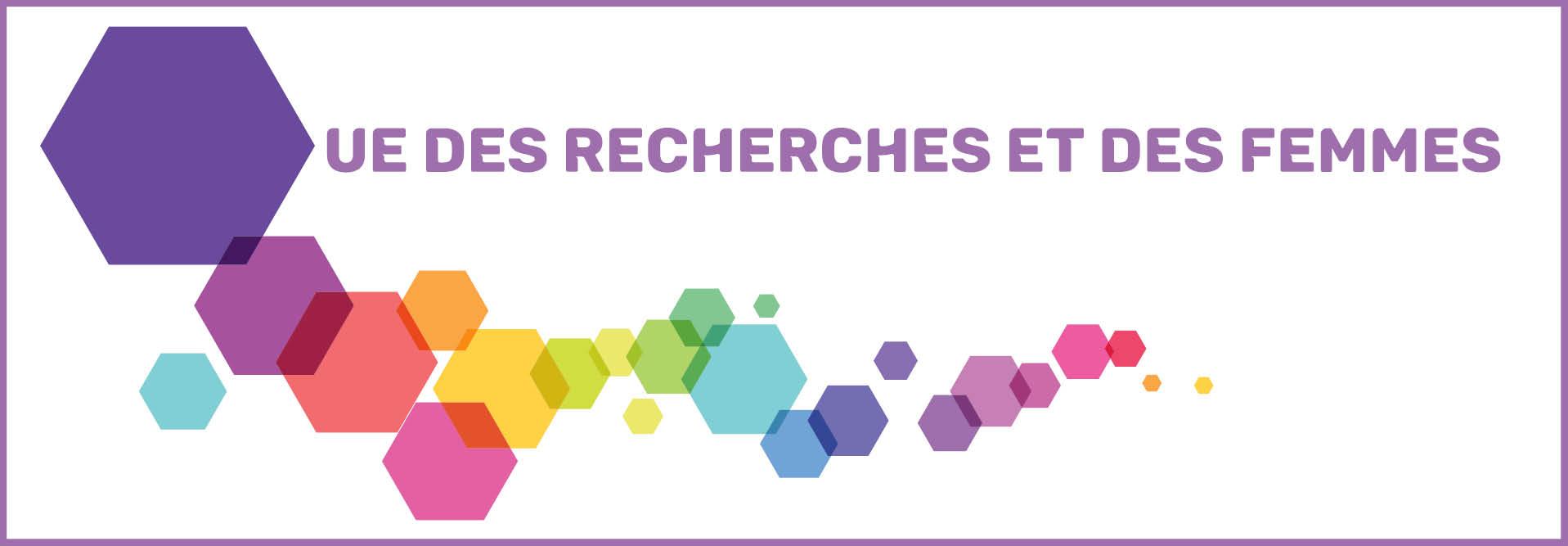 Logo UE Recherches femmes B