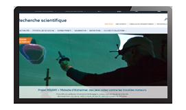 visuel site web recherche