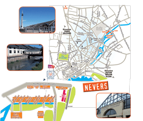 Plan campus nevers