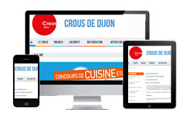 crous dijon websites