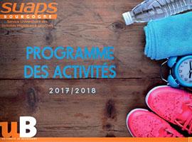 programme suaps 2017 2018