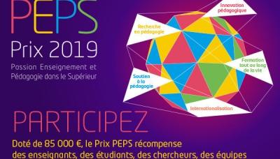 Prix PEPS 2019 : étudiant(e)s, proposez des actions pédagogiques innovantes !