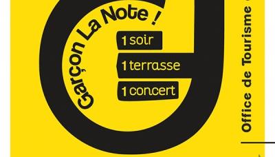 """""""Garçon la note"""" : Un soir, Une terrasse, Un concert !"""