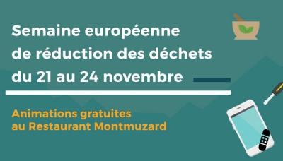 Semaine Européenne de la Réduction des Déchets : des bons plans pour les étudiant/e.s