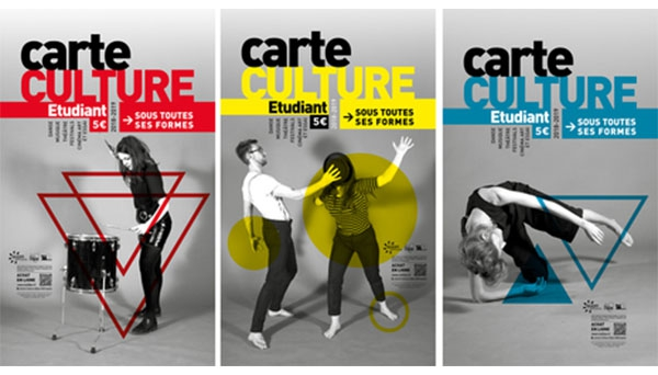 Visuel de la carte culture étudiant 2018-2019