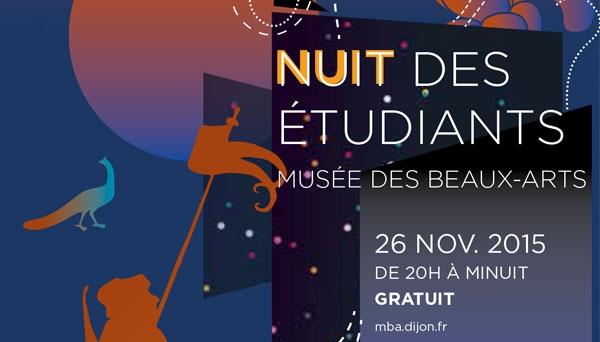 La nuit des étudiants au musée des Beaux-Arts