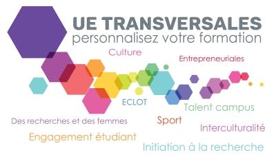 Grâce aux UE Transversales, personnalisez votre formation !