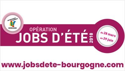 Opération Jobs d'été en Bourgogne Franche-Comté : coup d'envoi de la campagne 2018 !