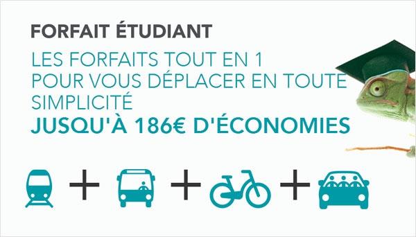 Transport : un pack mobilité à prix réduit pour les étudiant-e-s