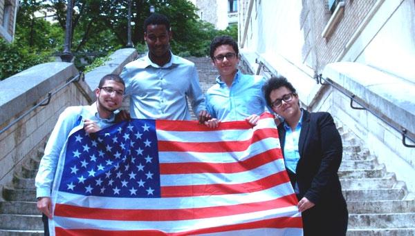 Partez aux États-Unis pour représenter la France