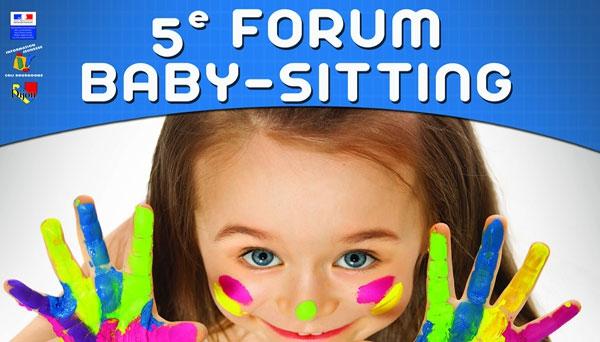 Forum Baby-sitting 2016: candidatez avant fin août