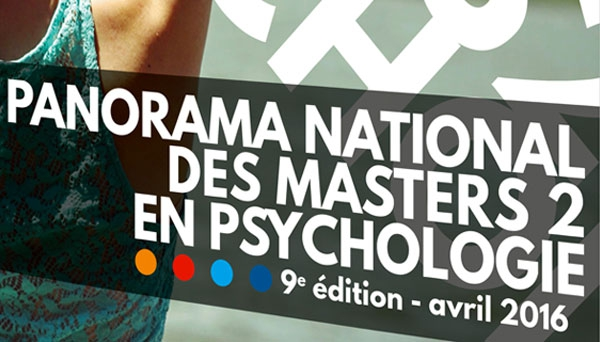 Panorama national des masters 2 en psychologie