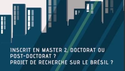 Étudiant ou doctorant en Sciences Humaines et Sociales, un projet de recherche sur le Brésil...