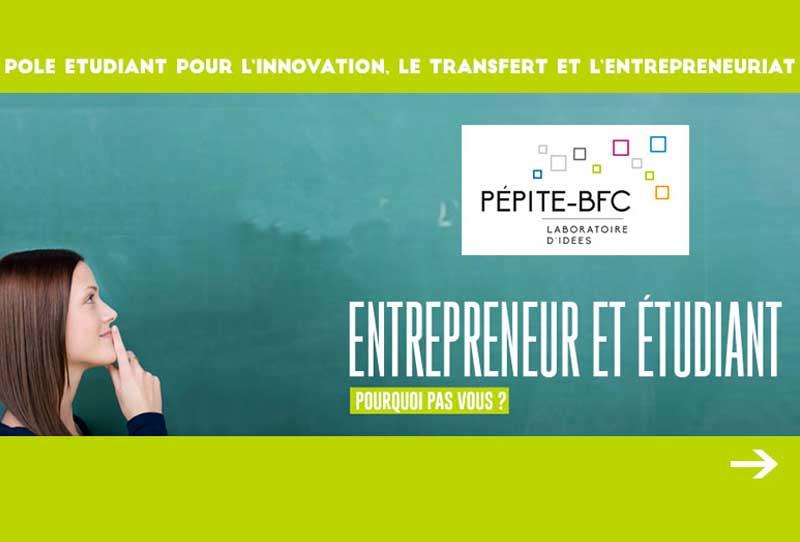PEPITE – Entrepreneuriat étudiant