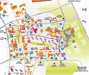 Plan Du Campus De Dijon Ub Link Site Etudiant De L Ub