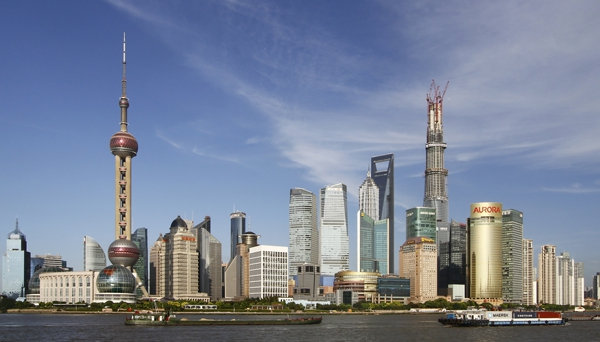 Les gratte-ciels de Shanghai - Creative Commons