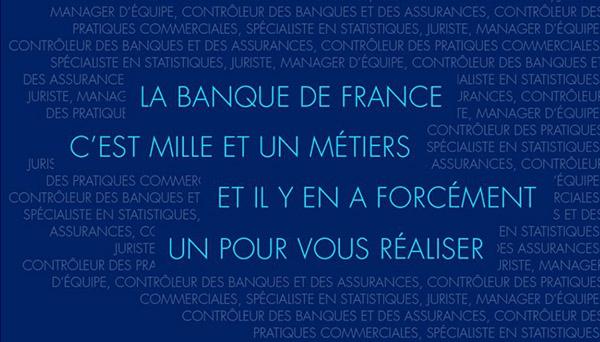 La Banque de France recrute
