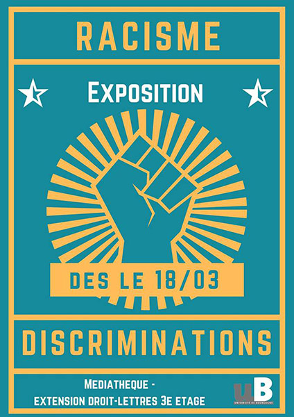 AFF actu2019 exposition racisme discriminations mediateque ufr langues comunication 2019 03 21