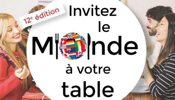 Invitez le monde à votre table 2019