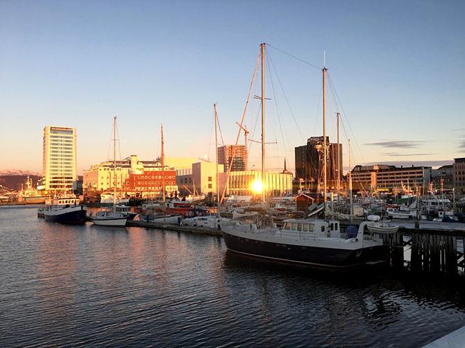 Le port de Bodø.