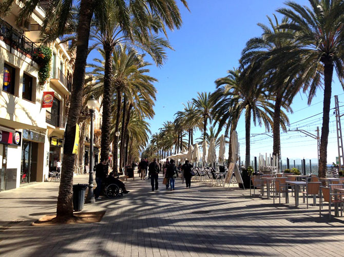 Badalona, commune de la province de Barcelone.