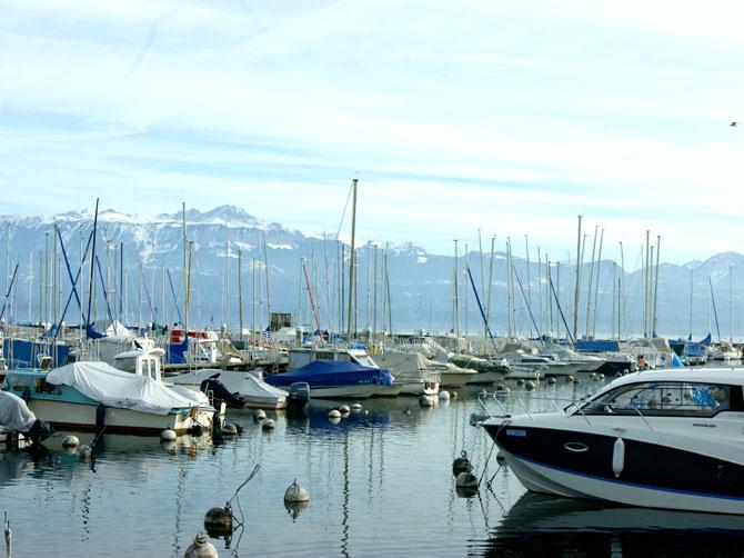 Port de Lausanne Ouchy.