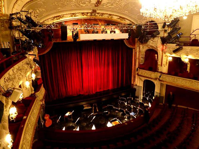 Le théâtre Salzburger Landestheater.