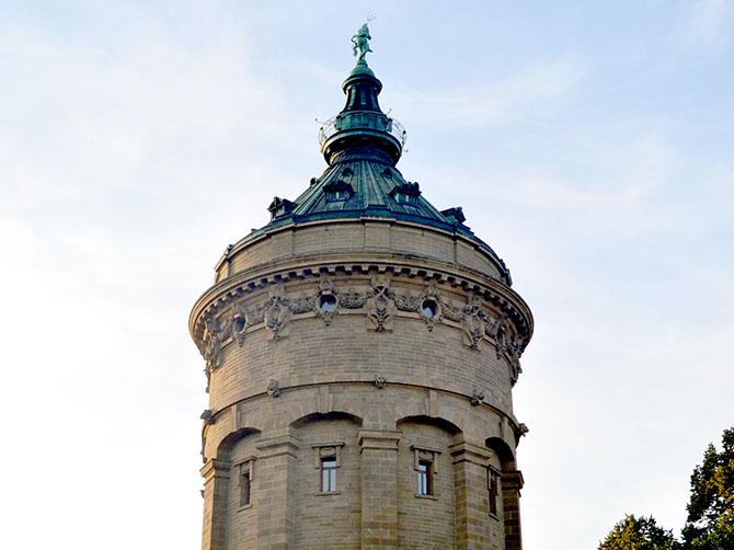 Château d'eau de Mannheim.