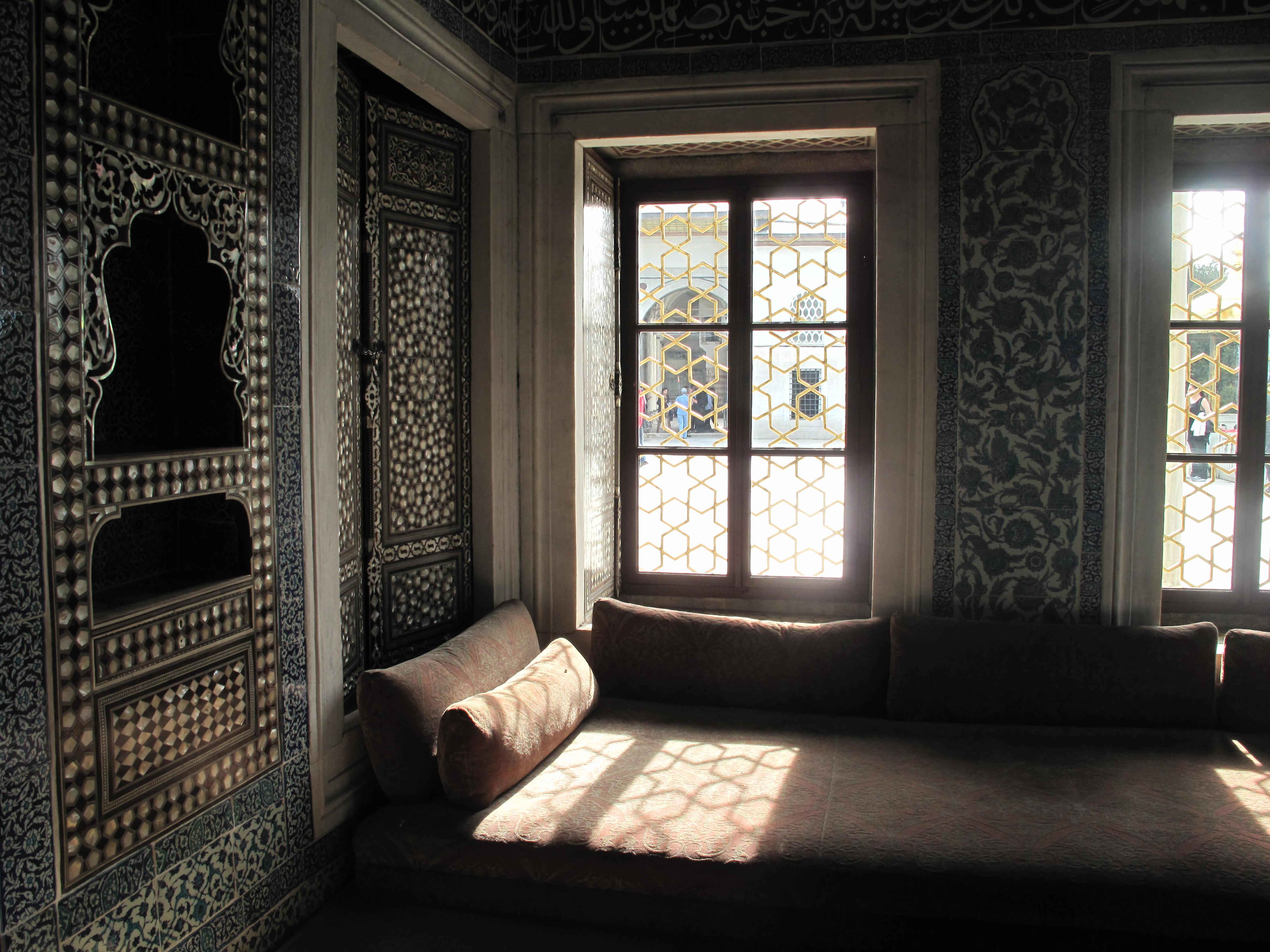 Le palais Topkapi et son harem.