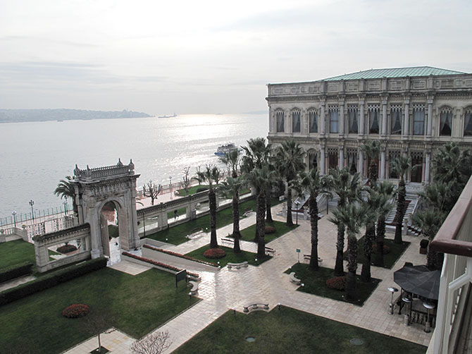 Le palais de Cihangir.