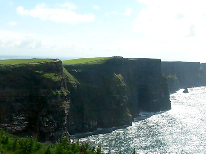 Cliffs of Moher près de Galway.