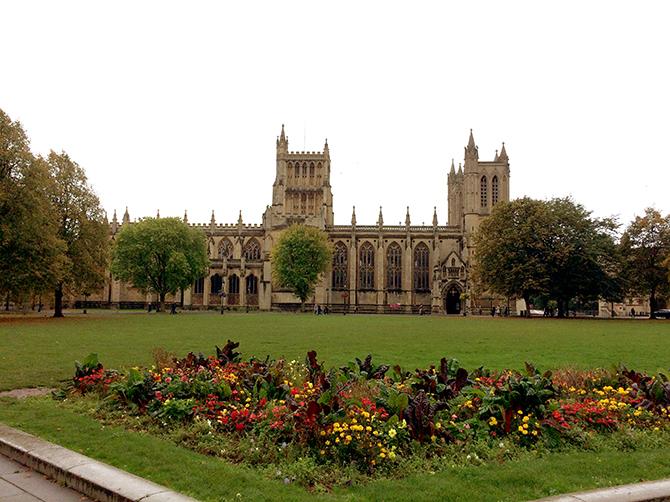 Cathédrale de Bristol.