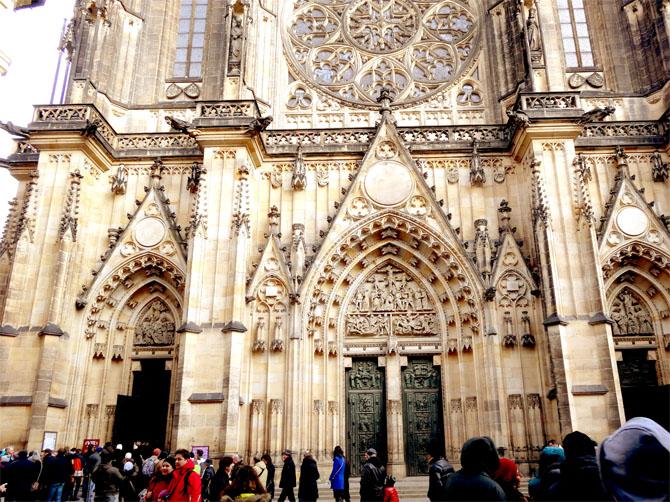 Cathédrale Saint-Guy au sein du château de Prague.