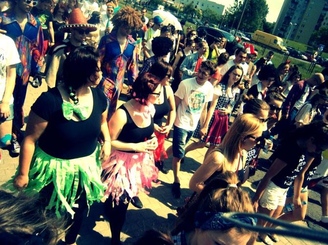Mon université d'origine - La fête des Mon université d'origine : la fête des étudiants en 2014 à Opole.étudiants en 2014 à Opole.