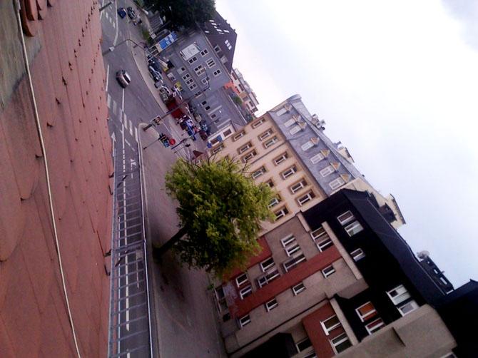 La vue sur Opole de ma fenêtre.