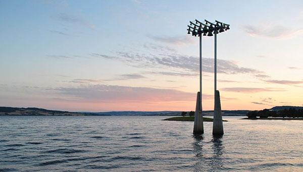 ©Hélène BOURAS, Lac Mjøsa, en bordure du centre-ville.